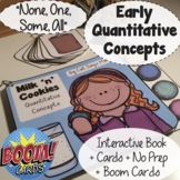 Early Quantity Concepts Pack (one, some, all) Interactive Book + No Prep + Cards