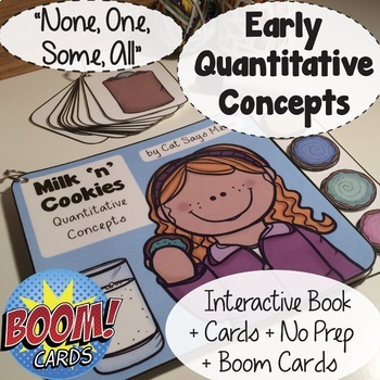 Early Quantity Concepts Pack (one, some, all) Interactive