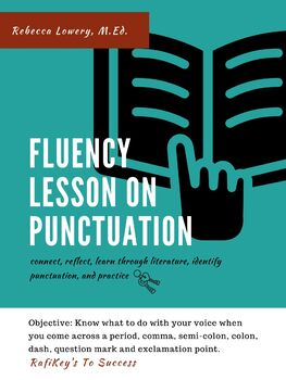 Early Reader (1-2 Grades) Fluency Lesson on Punctuation