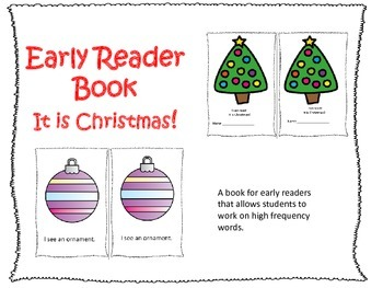 Early Reader Book:  It is Christmas!
