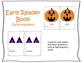 Early Reader Book: Jack-o-lantern