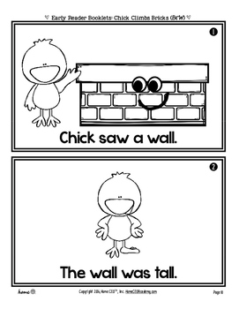 Silly Reader Booklet: Chick Climbs Bricks by Home CEO