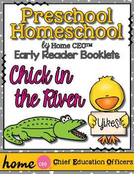 Silly Reader Booklet: Chick in the River by Home CEO
