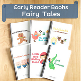 Early Reader Fairy Tales for Kindergarten, Speech Therapy BUNDLE