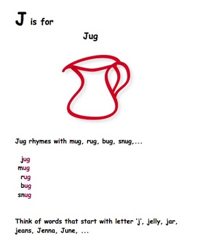 ESL - Early Reader : Letter Recognition and Identification
