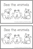 Early Reader - See the Animals FREEBIE