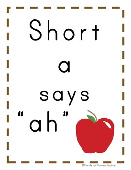 "Early Reader- Short ""A"" Words Book"