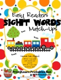 Early Reader Sight Word Match-Ups {Common Core Aligned}