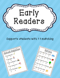 Early Readers -- 1:1 Correspondence -- Emergent Reader