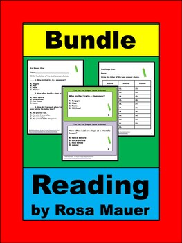 Early Readers Literacy Book Unit Bundle
