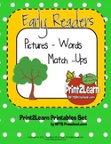 Early Readers Picture Word Match Ups [Set 1]