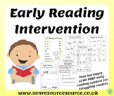 Early Reading Intervention - Easy to use no prep required