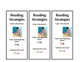 Early- Reading Strategies Bookmark