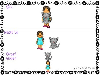 Early Receptive and Expressive Language NO-PRINT for Speech Therapy