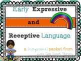 Early Receptive and Expressive Language NO-PRINT for Speec