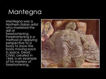 Early Renaissance Art- 25 Slide PowerPoint