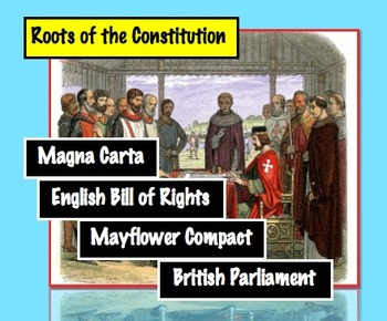 Early Representative Government: Magna Carta, Mayflower Compact Common Core