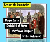 Early Representative Government: Magna Carta, Mayflower Co