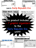 Early Republic Era, Graphic Organizers
