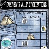 Early River Valley Civilizations Bingo{Mesopotamia, Egypt,