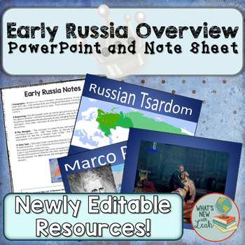 Early Russian History Overview