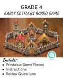 Alberta Grade 4 Social Studies: Early Settlement Board Game