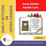 Early Settler Health Care  Gr. 2-4