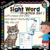 Sight Words Kindergarten - Set 1