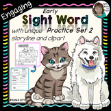 Sight Word Kindergarten Set 2