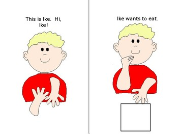 Early Sign Language Book