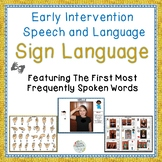 Illustrated Early Sign Language Speech Therapy Unit