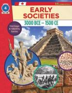 Early Societies, 3000 BCE - 1500 CE Gr. 4 (enhanced ebook)