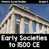 {Grade 4} Early Societies: 3000 BCE to 1500 CE Activity Packet