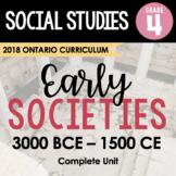 ONTARIO SOCIAL STUDIES: GR. 4 Early Societies Complete Inq