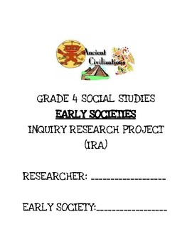 Early Society Research Project