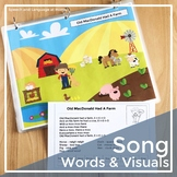Early Intervention Song Visuals and Rubrics | Preschool Ci