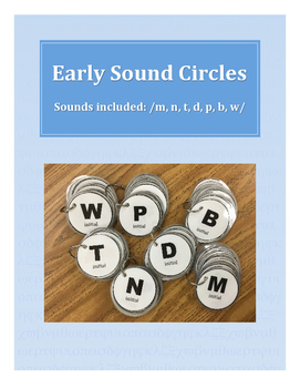 Early Articulation Sound Circles