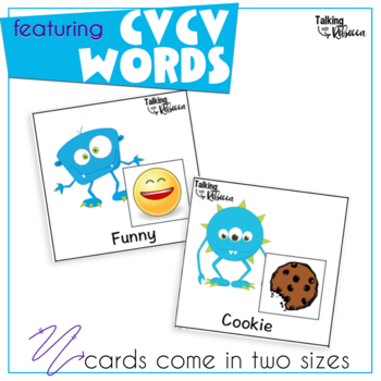 Early Sound Monster Articulation: CV, VC, and CVCV words for Apraxia of Speech