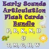Early Sounds Flash Card Bundle