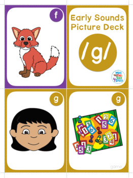 Articulation - Early Sounds Picture Decks