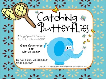 Catching Butterflies: Early Speech Sounds Game Companion for Elefun
