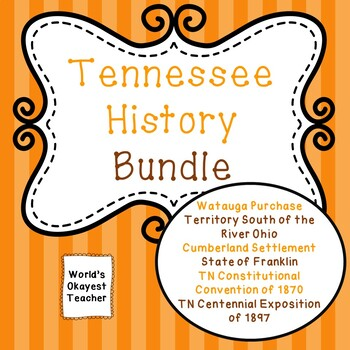 Early Tennessee History Bundle: 6 Products!