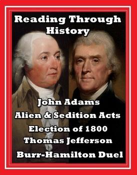 Early US History: Jefferson, Burr, and Hamilton