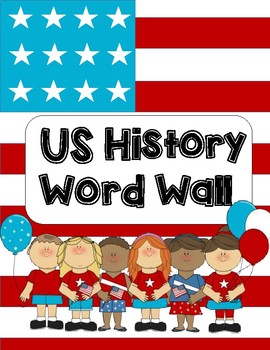 Early US History Word Wall