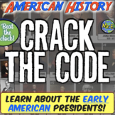 Early US Presidents Escape Room: Explore 10 Presidential C