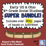 Early United States & Ohio Social Studies Intermediate Super Bundle