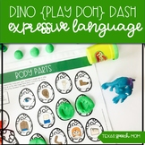 Dinosaur Dash Mats: Expressive Language No Prep Speech The