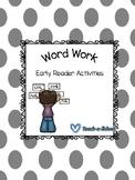 Early Word Work activities