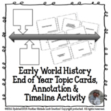 Early World History End of Year Review Analysis, Annotatio