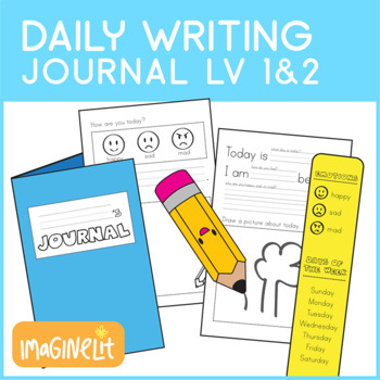 Early Writers Daily Journal with 2 Levels